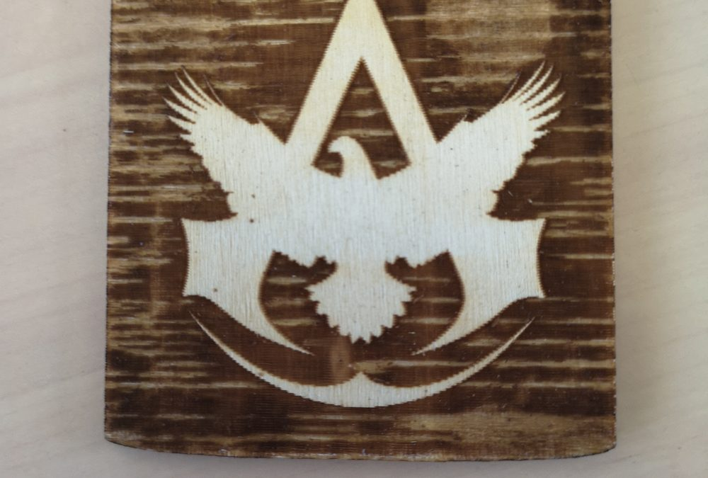 Tuto pour logo Assassin's Creed