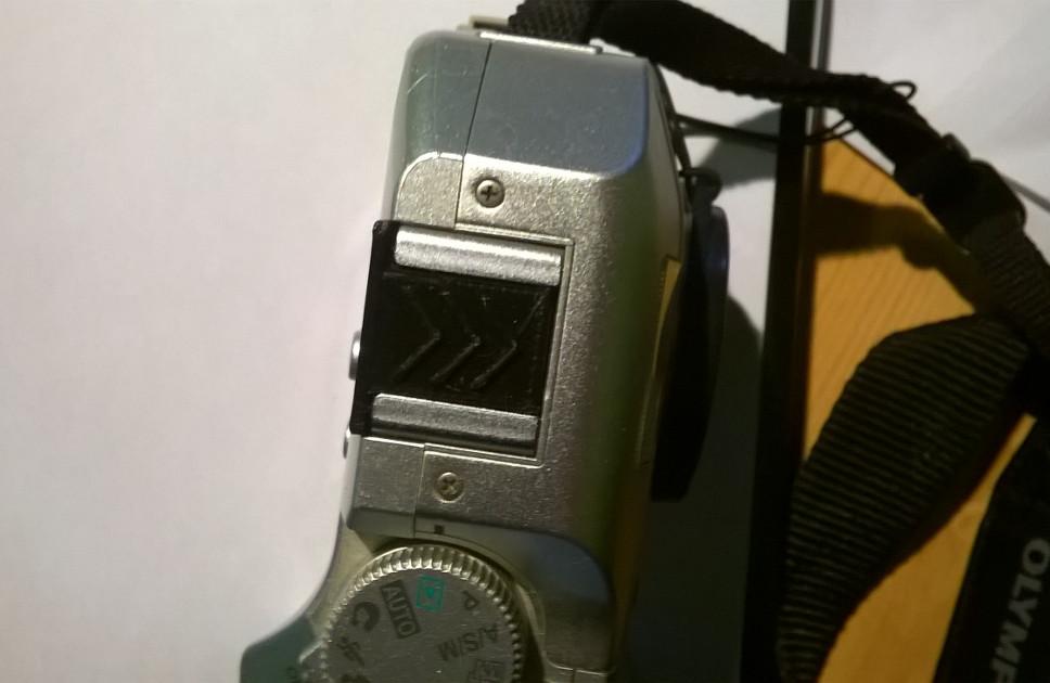 Un capuchon d'appareil photo