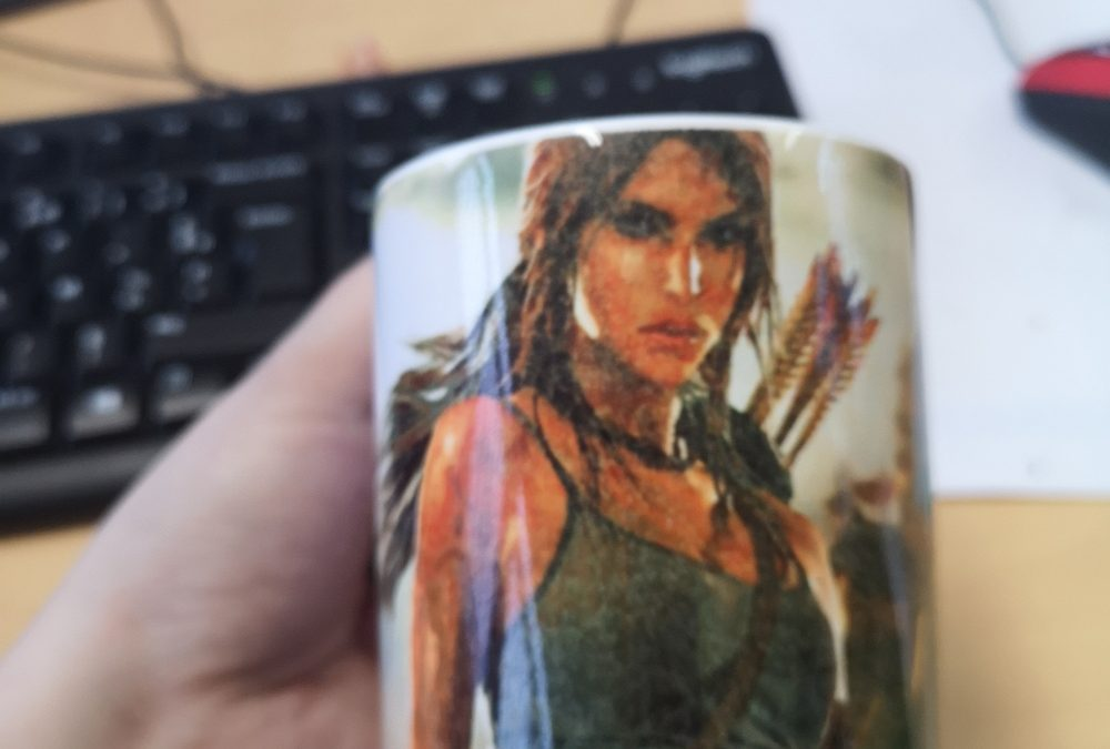 Mug Lara Croft