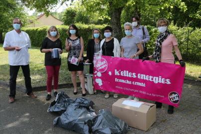 Edition Vesoul Haute-Saône | Des visières aux personnels de santé grâce à K'Elles énergies