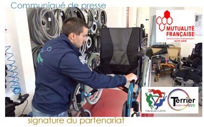Partenariat Fablab – Mutualité française Haute Saône